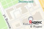 Схема проезда до компании Нурсат в Караганде