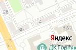 Схема проезда до компании ТВ Азия в Караганде