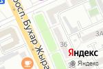Схема проезда до компании NG TOUR в Караганде
