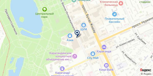 Media Lime Agency на карте Караганде