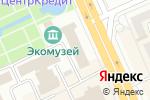 Схема проезда до компании Bank RBK в Караганде