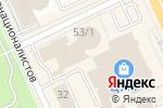 Схема проезда до компании NoutbukShop в Караганде