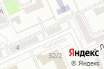 Схема проезда до компании Тенториум в Караганде