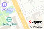 Схема проезда до компании Деревянная биржа в Караганде