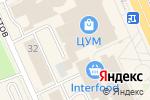 Схема проезда до компании Золото Москвы в Караганде