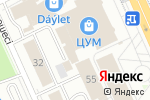 Схема проезда до компании Точка красоты в Караганде
