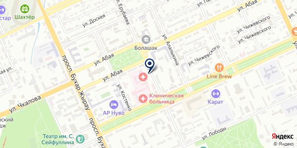 Neo строй, ТОО на карте Караганде