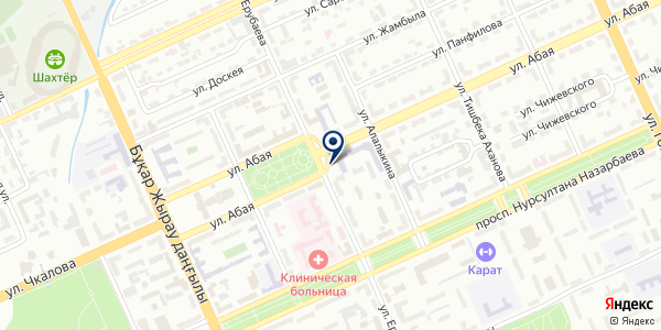 АБС-Карагандагеология на карте Караганде