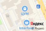 Схема проезда до компании TODAY coffee в Караганде