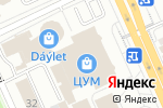 Схема проезда до компании У Амони в Караганде