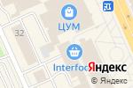 Схема проезда до компании Универсал в Караганде