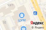 Схема проезда до компании Black Phones Company в Караганде