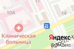 Схема проезда до компании Советникъ в Караганде