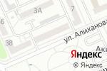 Схема проезда до компании Нотариус Аяпбергенова А.А. в Караганде