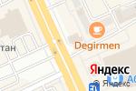 Схема проезда до компании Queen tour, ТОО в Караганде