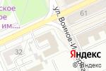 Схема проезда до компании Манты в Караганде