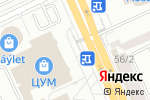 Схема проезда до компании I-vape в Караганде
