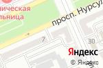 Схема проезда до компании Олимпия-тур в Караганде