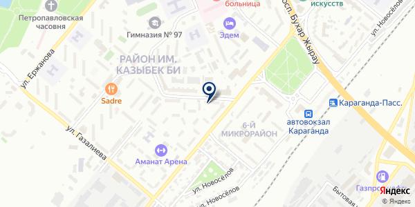 Алма ТВ на карте Караганде