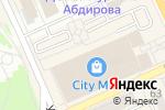 Схема проезда до компании City press в Караганде