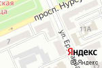 Схема проезда до компании Стиль-Декор в Караганде