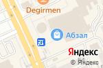 Схема проезда до компании Renessainse в Караганде