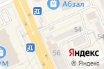 Схема проезда до компании Туристическое агентство в Караганде