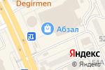 Схема проезда до компании Ри-о-ри в Караганде