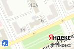 Схема проезда до компании Государственная аннуитетная компания в Караганде
