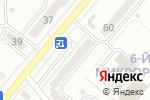Схема проезда до компании Южный в Караганде
