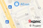 Схема проезда до компании Апрель Кулагер, ТОО в Караганде