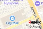 Схема проезда до компании Модное хобби в Караганде