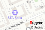 Схема проезда до компании Казкоммерцбанк в Караганде