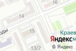 Схема проезда до компании Сентрас Иншуранс в Караганде