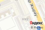 Схема проезда до компании Улыбка в Караганде