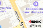 Схема проезда до компании Reni Kazahstan в Караганде