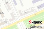 Схема проезда до компании Теона тур в Караганде