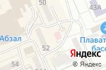Схема проезда до компании Панацея в Караганде
