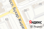 Схема проезда до компании Mirra в Караганде