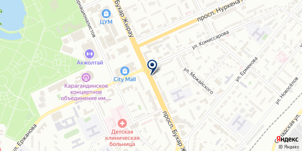 Газгидроэл, ТОО на карте Караганде