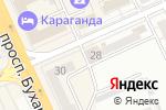 Схема проезда до компании Absolute в Караганде
