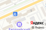 Схема проезда до компании Казкоммерц-life в Караганде
