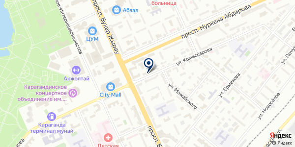 BijuRoom на карте Караганде