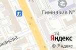 Схема проезда до компании Банкомат, Банк ЦентрКредит в Караганде