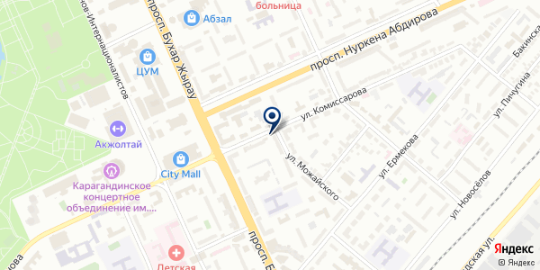 RTL-Group, ТОО на карте Караганде
