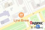 Схема проезда до компании Line brew в Караганде