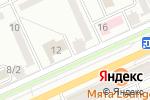Схема проезда до компании Евразийский Банк в Караганде