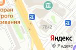 Схема проезда до компании D`Luxe в Караганде