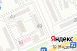 Схема проезда до компании Радость в Караганде