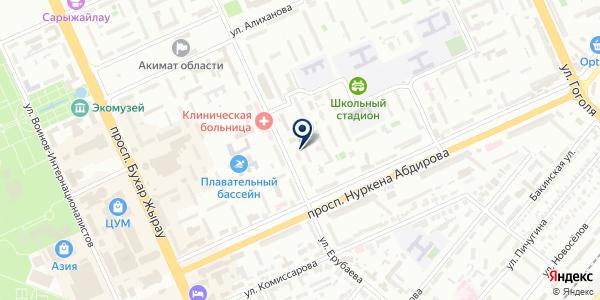 Имидж-студия Корякиной Елены на карте Караганде